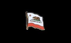 Spilla Bandiera USA California - 2 x 2 cm