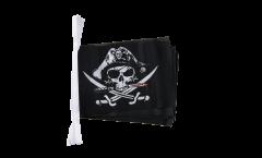 Cordata Pirata con sciabola sanguinante - 15 x 22 cm