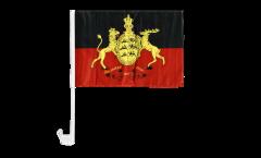 Bandiera per auto Germania Württemberg - 30 x 40 cm