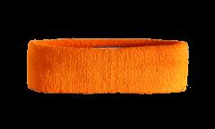 Fascia antisudore Unicolore Arancione - 6 x 21 cm