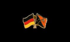 Spilla dell'amicizia Germania - Papua-Nuova Guinea - 22 mm