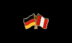 Spilla dell'amicizia Germania - Perù - 22 mm