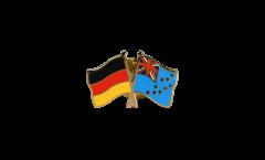 Spilla dell'amicizia Germania - Tuvalu - 22 mm
