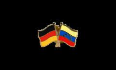 Spilla dell'amicizia Germania - Venezuela 8 Stelle - 22 mm