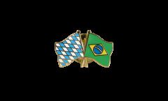 Spilla dell'amicizia Baviera - Brasile - 22 mm