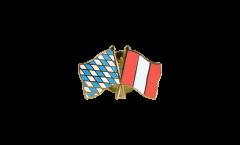 Spilla dell'amicizia Baviera - Perù - 22 mm