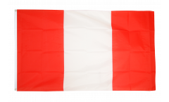 Bandiera Perù senza stemmi - 90 x 150 cm