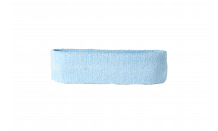 Fascia antisudore unicolore celeste - 6 x 21 cm