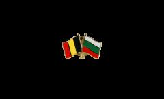 Spilla dell'amicizia Belgio - Bulgaria - 22 mm
