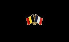 Spilla dell'amicizia Belgio - Francia - 22 mm
