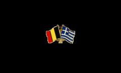 Spilla dell'amicizia Belgio - Grecia - 22 mm