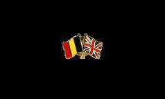 Spilla dell'amicizia Belgio - Regno Unito - 22 mm