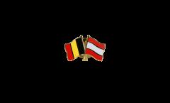 Spilla dell'amicizia Belgio - Lettonia - 22 mm