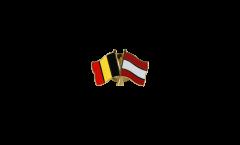 Spilla dell'amicizia Belgio - Austria - 22 mm