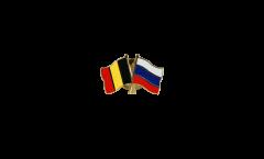 Spilla dell'amicizia Belgio - Russia - 22 mm