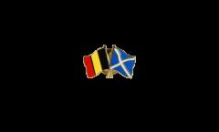 Spilla dell'amicizia Belgio - Scozia - 22 mm