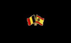 Spilla dell'amicizia Belgio - Spagna - 22 mm