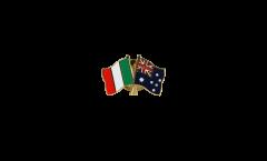 Spilla dell'amicizia Italia - Australia - 22 mm