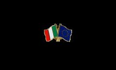 Spilla dell'amicizia Italia - Unione Europea EU - 22 mm