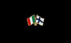Spilla dell'amicizia Italia - Finlandia - 22 mm