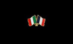 Spilla dell'amicizia Italia - Francia - 22 mm