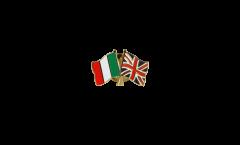 Spilla dell'amicizia Italia - Regno Unito - 22 mm