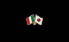 Spilla dell'amicizia Italia - Giappone - 22 mm