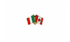 Spilla dell'amicizia Italia - Canada - 22 mm
