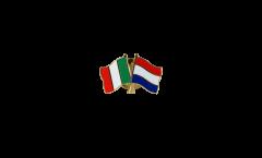Spilla dell'amicizia Italia - Paesi Bassi - 22 mm