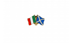 Spilla dell'amicizia Italia - Scozia - 22 mm