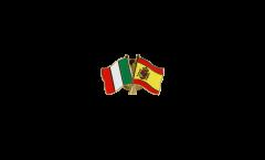 Spilla dell'amicizia Italia - Spagna - 22 mm