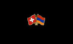 Spilla dell'amicizia Svizzera - Armenia - 22 mm