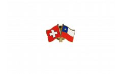 Spilla dell'amicizia Svizzera - Cile - 22 mm