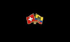 Spilla dell'amicizia Svizzera - Ecuador - 22 mm