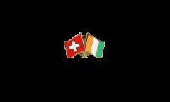 Spilla dell'amicizia Svizzera - Costa d'Avorio - 22 mm