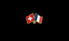 Spilla dell'amicizia Svizzera - Francia - 22 mm