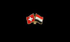Spilla dell'amicizia Svizzera - Iraq - 22 mm
