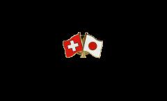 Spilla dell'amicizia Svizzera - Giappone - 22 mm