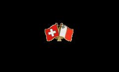 Spilla dell'amicizia Svizzera - Malta - 22 mm