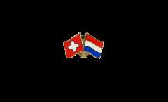 Spilla dell'amicizia Svizzera - Paesi Bassi - 22 mm