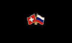 Spilla dell'amicizia Svizzera - Russia - 22 mm