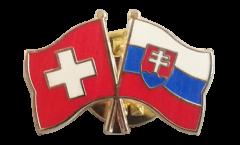 Spilla dell'amicizia Svizzera - Slovacchia - 22 mm