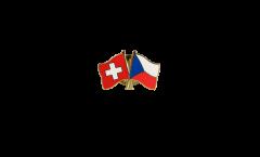 Spilla dell'amicizia Svizzera - Repubblica Ceca - 22 mm