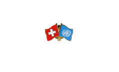 Spilla dell'amicizia Svizzera - UNO - 22 mm