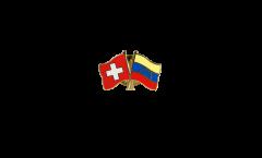 Spilla dell'amicizia Svizzera - Venezuela 8 Stelle - 22 mm