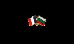 Spilla dell'amicizia Francia - Bulgaria - 22 mm
