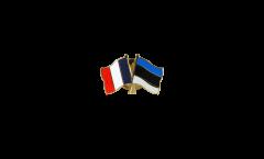Spilla dell'amicizia Francia - Estonia - 22 mm