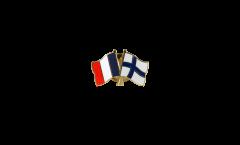 Spilla dell'amicizia Francia - Finlandia - 22 mm
