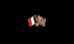 Spilla dell'amicizia Francia - Regno Unito - 22 mm