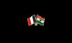 Spilla dell'amicizia Francia - India - 22 mm